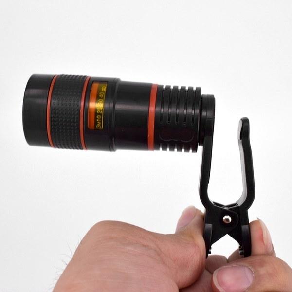 プロフェッショナル品質のカメラにあなたの電話を変換! HD360ズームホット
