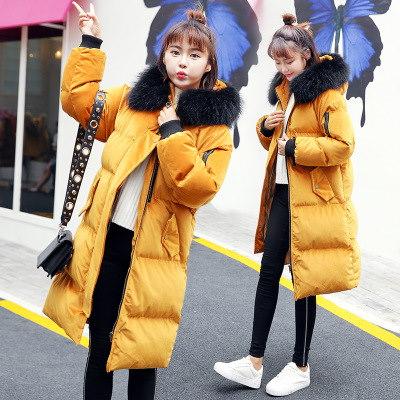 2018 春新作 韓国ファッション  レディース ダウン綿コート  人気 中綿 ミディアム ブルゾン /上質  流行 トレンド /4COLOR  D712284