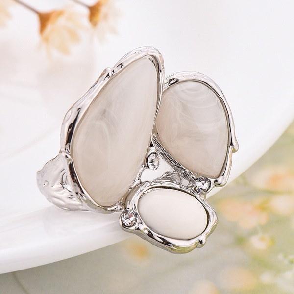 美しいターコイズジルコン925スターリングシルバーのファッション女性の宝石の結婚指輪のサイズ6-10