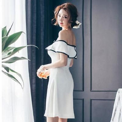 【dressgirl】OPS261 【在庫クリアランスセール】オフショルワンピース★ パーティードレス  ワンピース パーティー ドレス ワンピ ミニドレス