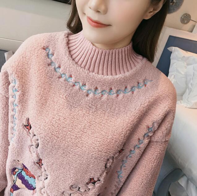 [55555SHOP]韓国ファッション 人気沸騰の アウター レディーストップス セーター レディース カジュアル カジュアルでカッコイイ大人のニット ニット トップス ニット 長袖 大人可愛い
