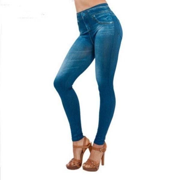 NEWセクシーな女性ジーンズパンツジーグスストレッチスリムレギンスファッションスキニーパンツ