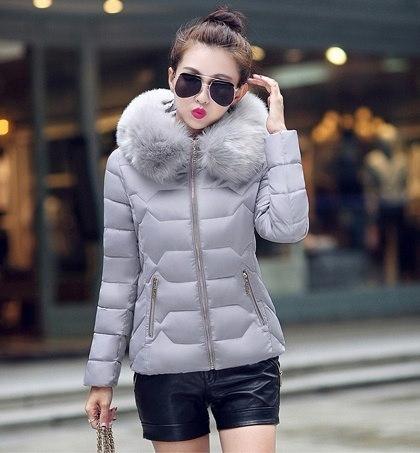 女性のトレンチチャームダブルブレストジャケット