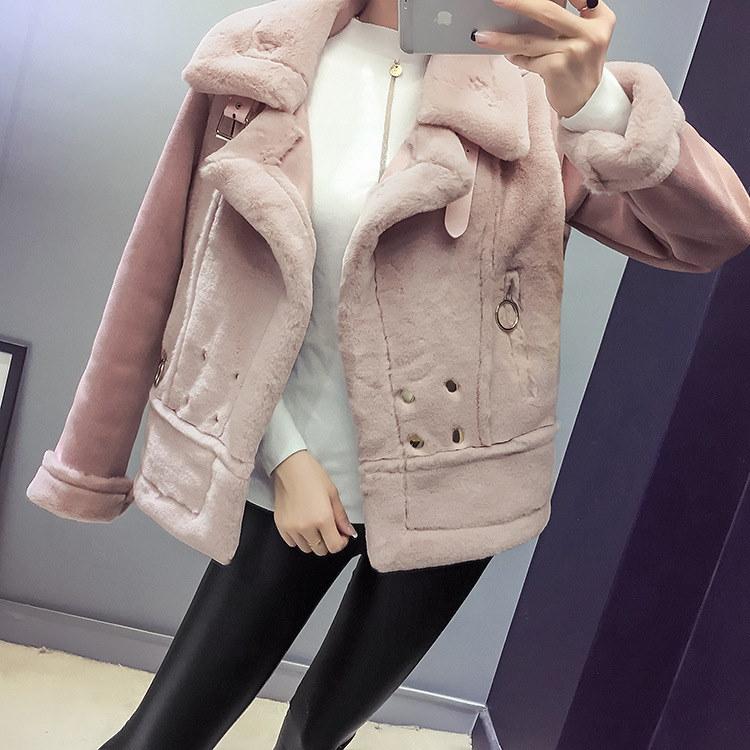 [55555SHOP]レディース 新作 コート coat アウター ジャケット 上着 厚手 保温コート