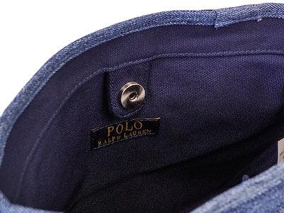 Polo Ralph Lauren ポロラルフローレン レディーストートバッグ SM SCHOOL TOTE950275 DENIM デニム 【送料無料】