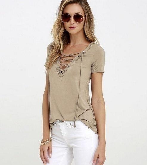 ファッション女性ルーズプルオーバーTシャツ半袖トップスシャツブラウスプラスサイズ