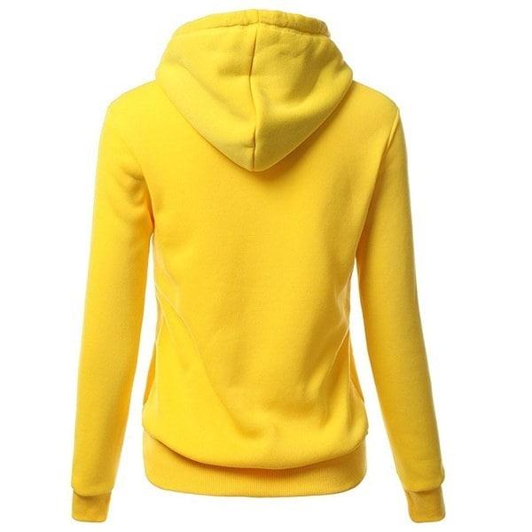 秋冬の女性のフード付きフリースの秋の冬の手紙フード付きのパーカーのカジュアルなスウェットシャツ