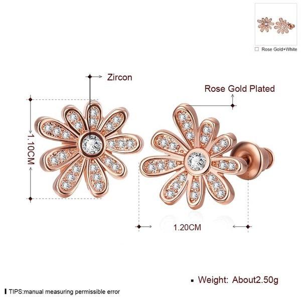E1050-B女性のための卸売ニクルフリー抗アレルギーホワイトリアルゴールドメッキイヤリング新しいファッションユダヤ
