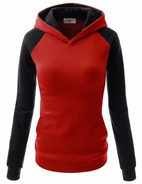 Sudaderas Mujer 2015 Women Trendyフード付き秋冬激安パッチワークプルオーバー女性スウェットシャツ