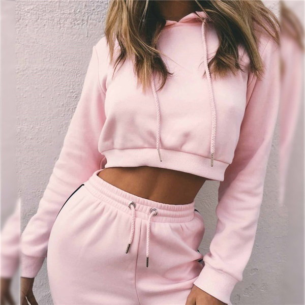Women Long Sleeve Loose Hooded Pullover Long Hoodies Sweatshirts Sportwear