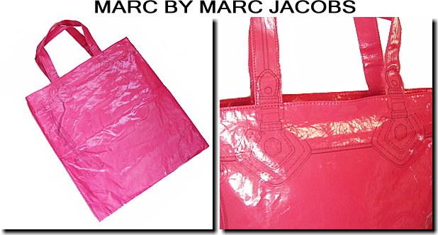【海外限定モデル】MARC BY MARC JACOBS(マークジェイコブス)ショッピングバッグフェイクアート/アザレア(ピンク)381038新品 【niigata_bsnsale】
