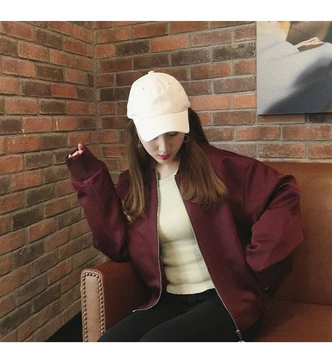 銀環ファスナー春秋 レディースジャケット  レディース野球服 レディースファション  韓国ファッション  長袖 アウターコート レディースジャケット