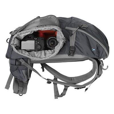 HAKUBAカメラリュックGWアドバンスピーク25L三脚取付可ダークグレーSGWA-P25DGY