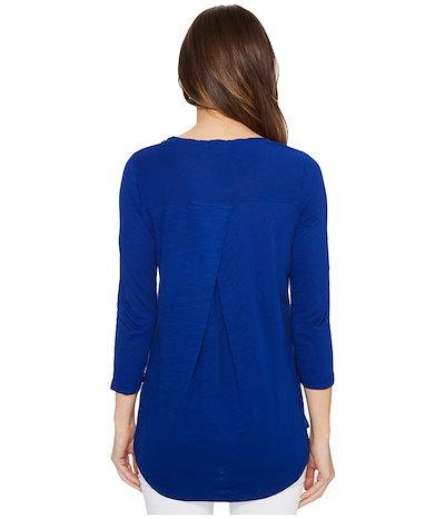 モッドドック レディース シャツ トップス Slub Jersey 3/4 Sleeve Sweatshirt Tee