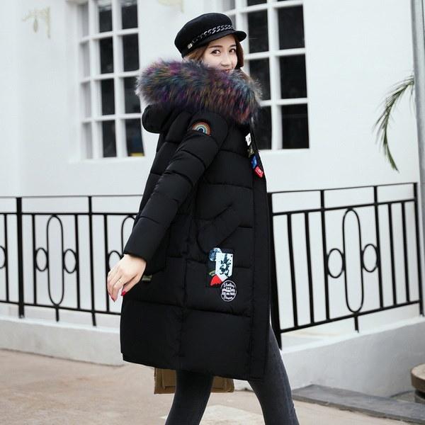 2017新しい女性の冬の綿の服ファッションのダウンジャケット