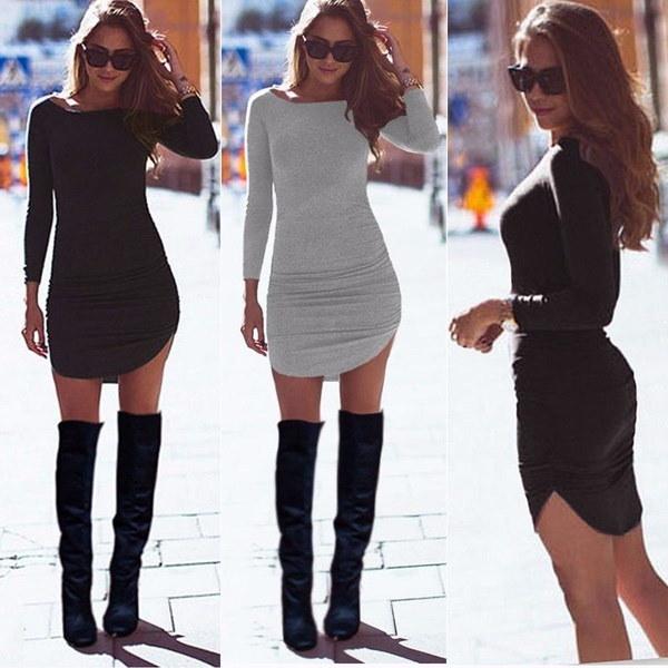 女性のファッションロングスリーブOネックプリントTシャツスリムハイウエストタイツトップス