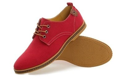 38 to 46 Large Size Leather Men s Shoes, Summer Cool Canvas Breathable Shoes