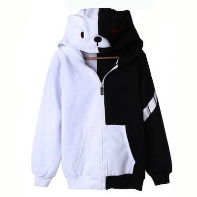 トリガーハッピーハーフモノクマコスプレファッション暖かいセーター
