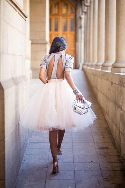 レディースTutuチュールAラインスカートショートプロムパーティー膝丈ペチコートドレス