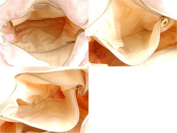シャネル CHANEL トートバッグ ショルダーバッグ レディース トートGM ニュートラベルライン A15825 ピンク×ゴールド ナイロンジャガード×カーフ (あす楽対応)人気 セール【中古】 Y