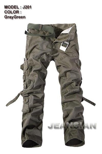 Jackson Men s Fashion Pant Trouser Cargo Military Slim Fit  Jeans 5 Colors 11 Sizes
