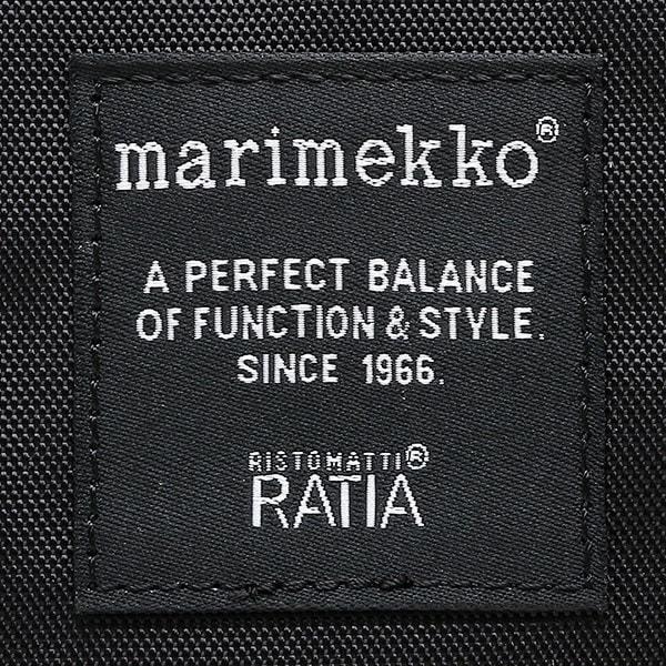 マリメッコ バッグ MARIMEKKO 026991 999 パル PAL ショルダーバッグ BLACK