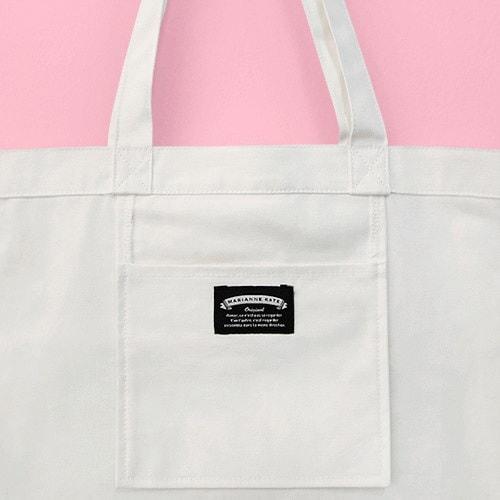 韓国産Marianne Kate 正品 It is Yummy Eco Bag ショッピングバッグ肩かばんトートバッグのマリアン・ケイト・エコバック