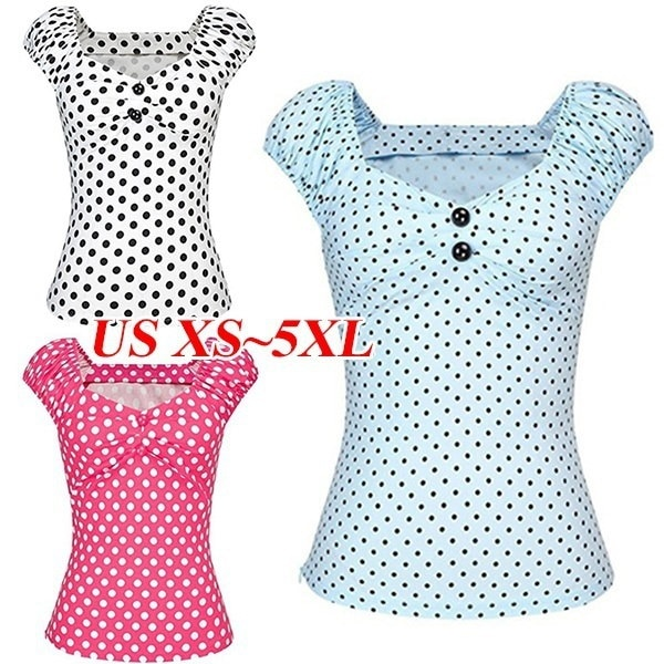 WICSTOMプラスサイズファッションレディースサマーTシャツパーティートップスレディースセクシーカジュアルショートスリーブ