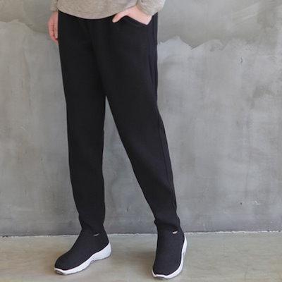 [zoozoom] Viscose knit baggy pants 2color / 31422