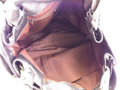 サルヴァトーレ フェラガモ Salvatore Ferragamo トートバッグ ワンショルダー メンズ可 ヴァラリボン シルバー キャンバス×レザー 人気 【中古】 T4971