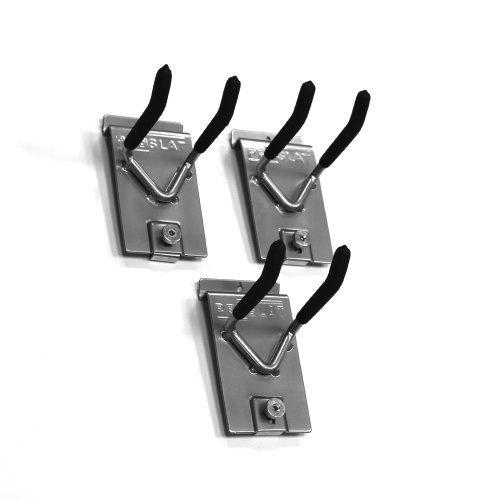 Proslat 13011ダブル4インチロックフックは、Proslat PVC Slatwall、3-Pack用に設計されています。