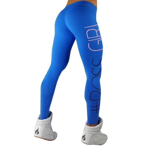 ファッションレディースSスポーツジムヨガプリントランニングフィットネスレギンスパンツヨガの服