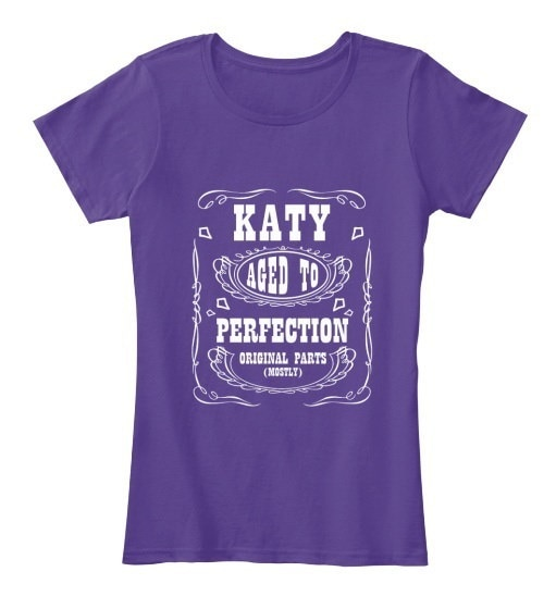 Katy   Aged To Perfection Women s Premium Tee