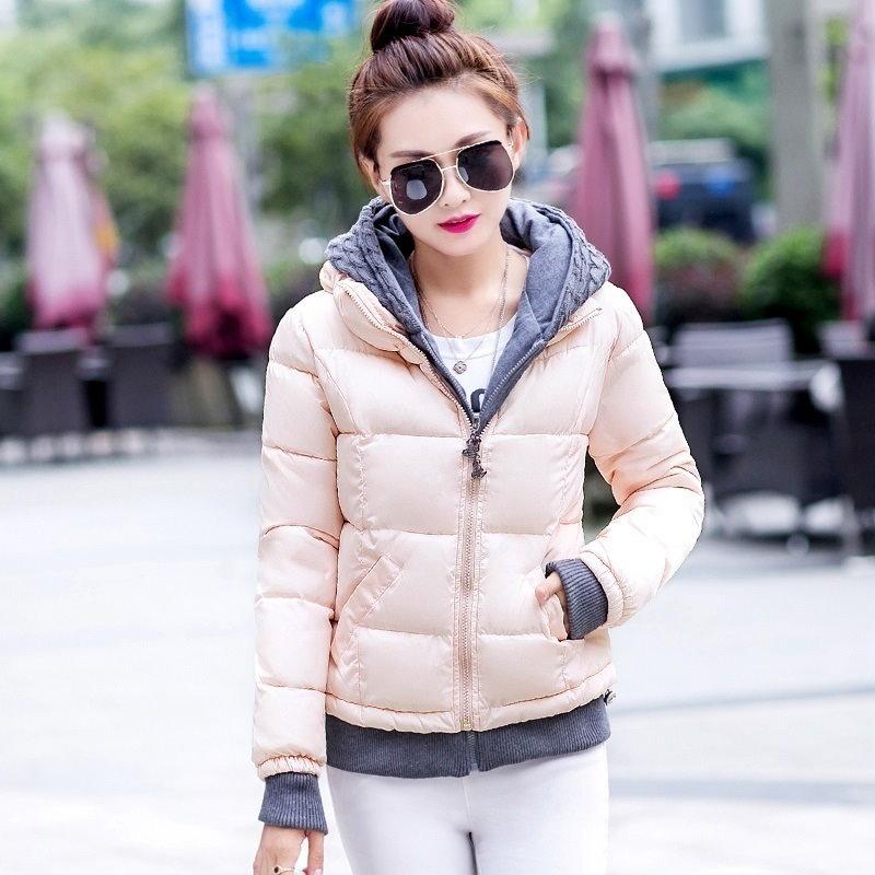 2016年の女性の冬のジャケット高品質の女性のコートカジュアルフード付きスリム女性のジャケットパーカープラスサイズの生き抜きます