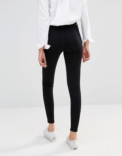 ドクターデニム レディース デニムパンツ ボトムス Dr Denim Lexy mid rise second skin superskinny jeans