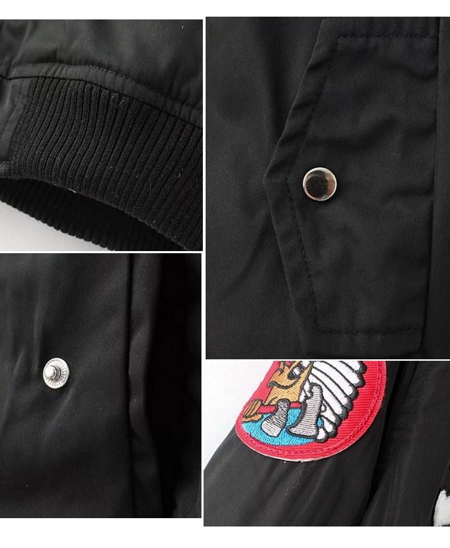 春秋 2017新作 レディースジャケット  パイロットジャケット 欧米风 レディースファッション アウターウエア コート パイロットジャケット