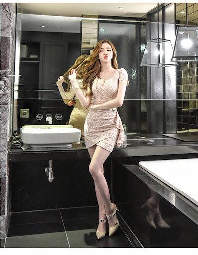 レディース 40代 お呼ばれ 30代 マタニティ 結婚式 ワンピース 20代 韓国ファッション 激安 ドレス ワンピース お呼ばれ オルチャンファッション オルチャン ドレス ワンピース