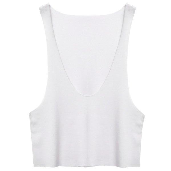 新しいファッション女性レディースセクシーな深いOネックノースリーブタンクトップサイドオープンルーズベーシックビーチトップス