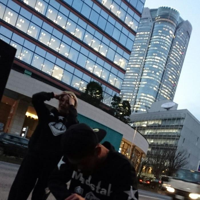 MAD☆STAR ナンバリングスウェット【マッドスター】