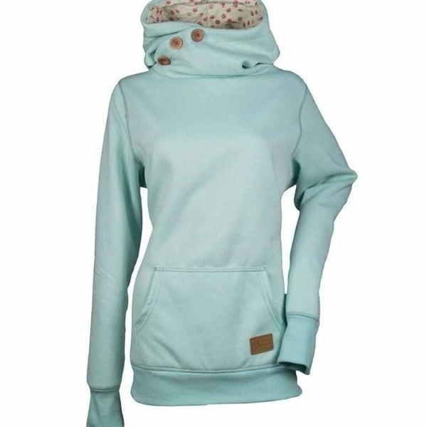 HOT 2017女性の冬のファッションセーターシャツ長袖ボタン服