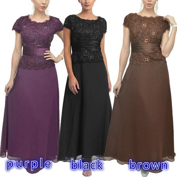 レトロスタイルレースパッチワークファッションロングパーティードレスショートスリーブレーストリムプラスサイズのドレス