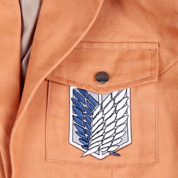 コスプレアニメゲームアタックオンタイタン新世界の怪人ジャケット+スカートユニセックスコスチューム