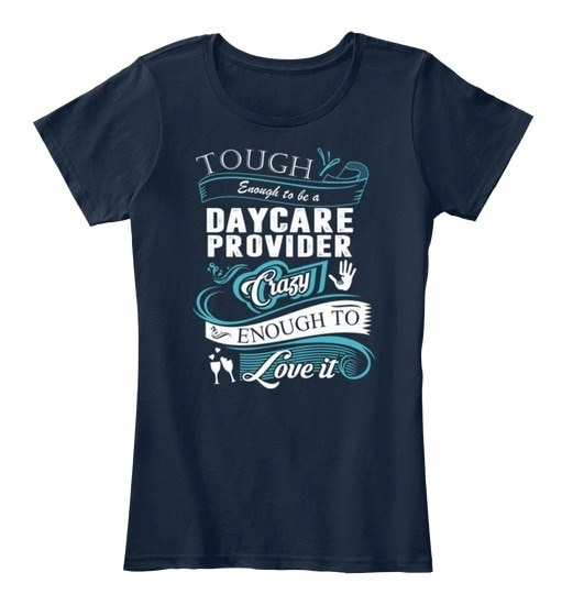 Daycare Provider Mugs & Drinkware Best Women s Premium Tee T-Shirt