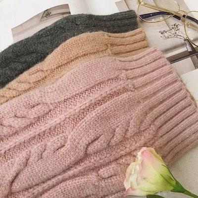 【3色】キュート ゆったり 暖かセーター ニットカーディガン カジュアル