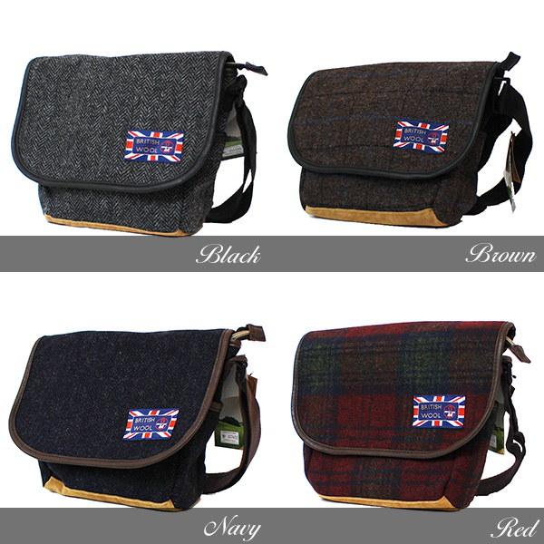 BRITISH WOOL ブリティッシュウール ツイード バッグ [レディース メンズ] [冬 ミニ ショルダー バッグ 雑貨特集] [メール便不可] 170215 アウトレット (Z3-5)