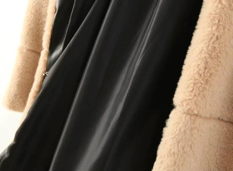 毛皮ジャケット /ファージャケット / フェイクファー  /ファーコート / 秋 冬防寒 アウター  レディース韓国風 ゴージャスエレガント