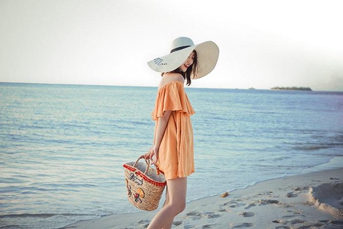 夏らしいデザイン 上品  夏VIVI 刺繍 バッジ かごバッグ バッグ カゴバッグ