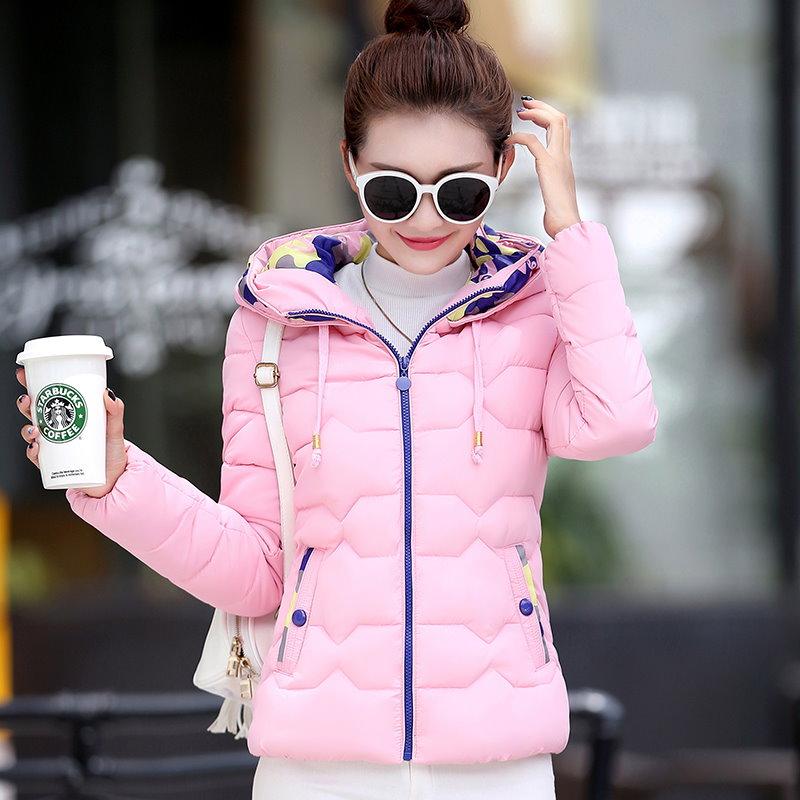 2017新型冬服綿入れ女子ショート軽薄ダウン棉服韓版ソフト妹可愛い生徒んコート