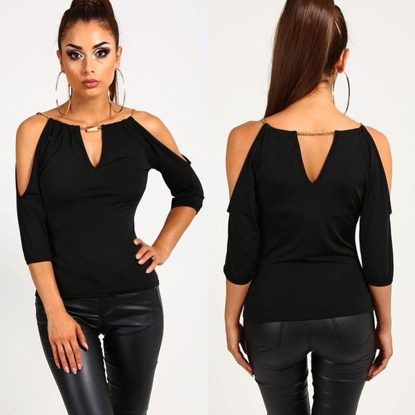 女性のルーズ34スリーブカジュアルブラウスシャツファッションブラウスTシャツ