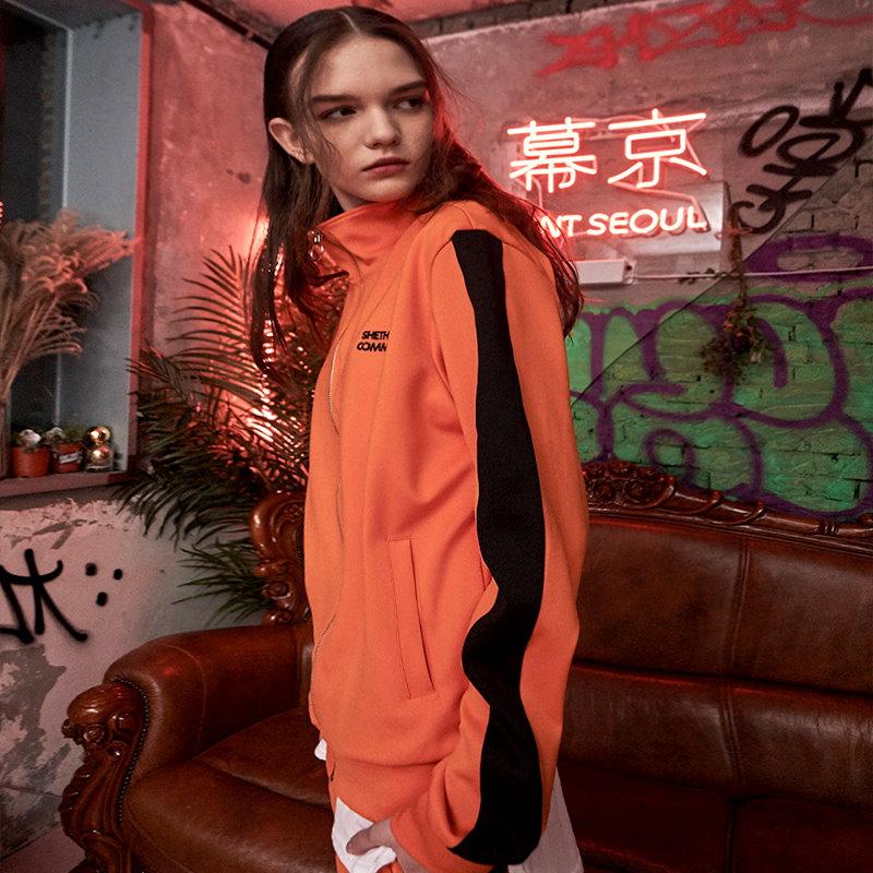 [韓流スター]韓国 ファッション ファッションデザイナー ジャージトラックトップ